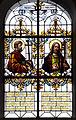 Hürbel Pfarrkirche Fenster Apostel Jakobus minor und Philippus.jpg