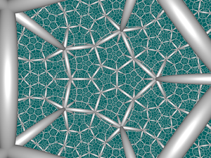 Uniform honeycombs in hyperbolic space - Image: H3 535 CC center