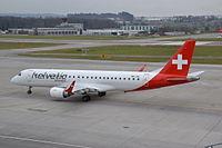 HB-JVL - E190 - Swiss