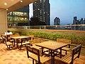 HKU 香港大學 PFL campus 薄扶林校園 Chow Yei Ching Building 周亦卿樓 interior evening April 2019 SSG 02.jpg