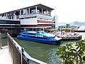 HK 上環 Sheung Wan Central footbridge view Victoria Harbour Hong Kong-Macau Ferry Pier July 2019 SSG 01.jpg