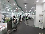 HK 灣仔郵政局 Wan Chai Post Office Office lobby hall interior n visitors October 2017 IX1 01.jpg
