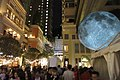 HK 灣仔 Wan Chai 利東街 Lee Tung The Avenue night 月球博物館 big Moon Museum by UK Luke Jerram October 2017 IX1 28.jpg