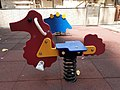 HK SYP 西環 Sai Ying Pun 德輔道西 Des Voeux Road West 西安里 Sai On Lane Children's Playground horse March 2020 SS2 01.jpg