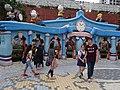 HK Shatin 史諾比開心世界 Snoopy's World blue gate sign n Birchwood School May 2016 DSC (2).JPG