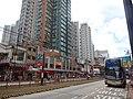 HK YL 元朗 Yuen Long 豐裕軒 Opulence Height 青山公路 元朗段 50 Castle Peak Road July 2016 KMBus stop.jpg