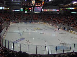 Scotiabank Centre - The Scotiabank Centre prior to a Mooseheads game against Lewiston on December 27, 2005