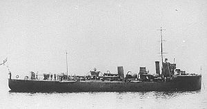 SS Mendi - Image: HMS Brisk 1910
