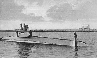 SM UC-8 - Image: HNLMS M1