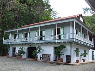 Hacienda Buena Vista museum and historic coffee plantation in Ponce, Puerto Rico