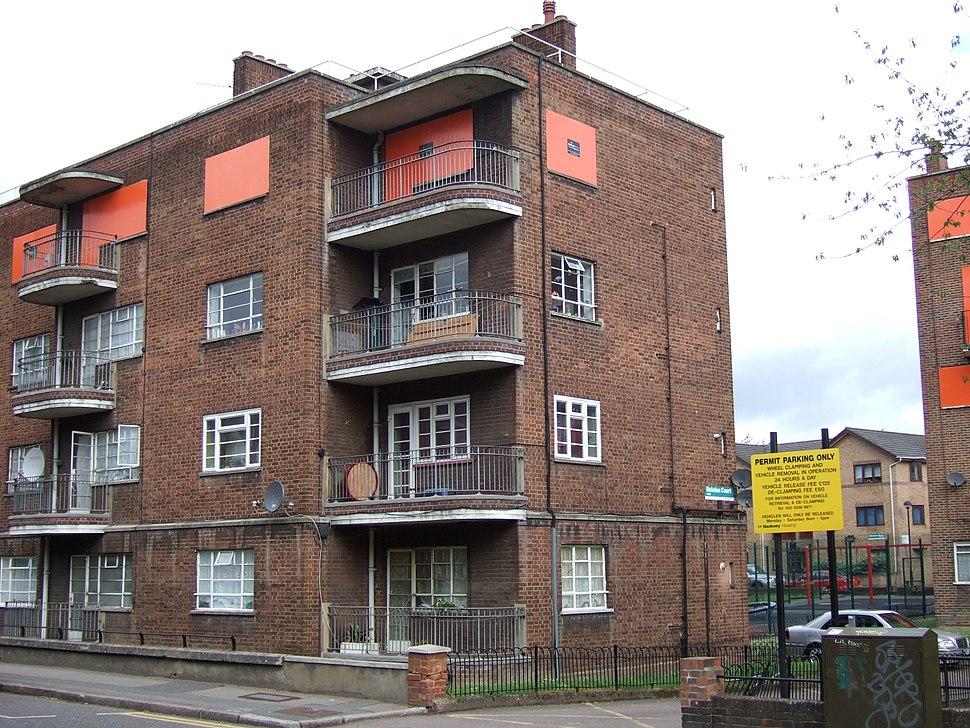 Haggerston council block 1