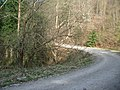 Hairpin bend on the Bury Ditches cycle trail - geograph.org.uk - 154664.jpg