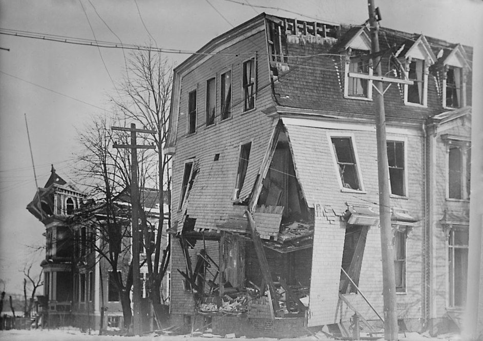 Halifax Explosion Aftermath LOC 1 - retouched