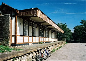Halton railway station, Lancashire - Image: Halton railway station, Lancashire