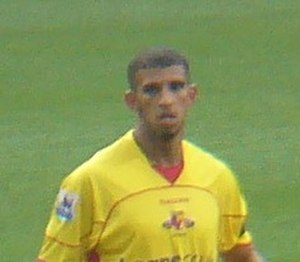 Hameur Bouazza - Bouazza playing for Watford