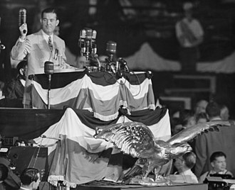 1944 Democratic National Convention - Robert E. Hannegan opening the convention