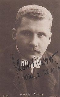 Hans Marr