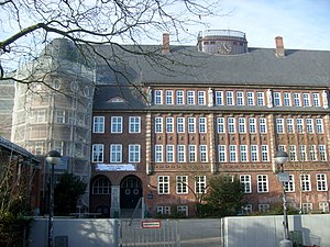 Education in Hamburg - Hansa-Gymnasium Hamburg in the Bergedorf borough built 1912 to 1914 by Fritz Schumacher.