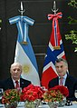 Harald V of Norway and Mauricio Macri March 2018.jpg