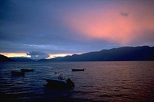 Hardangerfjord - Hardangerfjord sunset