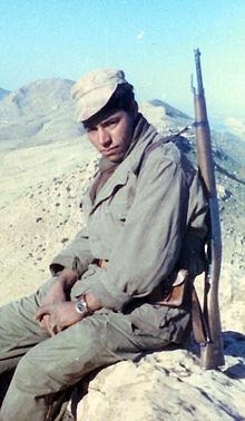 Un jeune harki, en 1961.
