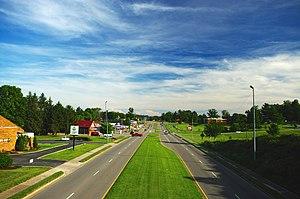 Harrogate, Tennessee - US 25E in Harrogate