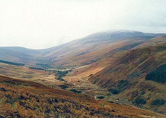 The Cheviot - The Cheviot and Harthope Valley