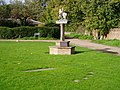 Haslingfield village sign and Millennium Sundial - geograph.org.uk - 70441.jpg