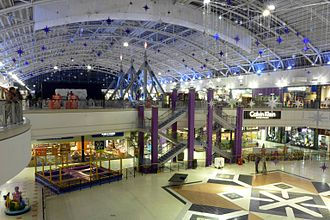 The Galleria, Hatfield - The interior of the south wing.