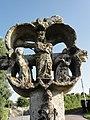 Hattenville (Seine-Mar.) Croix monumentale au hameau de La Croix de Pierre, verso.jpg