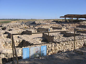 Tel Hazor - Chambered gate from the Israelite period.