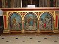 Hautot-l'Auvray (Seine-Mar.) église, autel principal, dessous d'autel.jpg