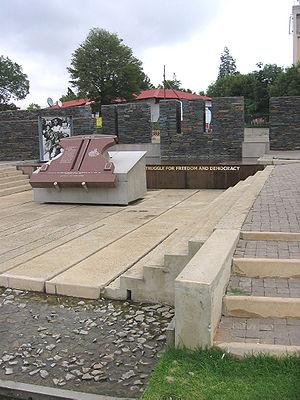 Orlando, Soweto - Image: Hector Pieterson Memorial
