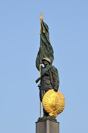 Soviet War Memorial (Vienna) - Image: Heldendenkmal der Roten Armee DSC 1814a