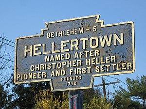 Hellertown, Pennsylvania - Keystone Marker