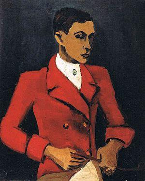 Helmut Kolle - Self portrait, ca. 1930