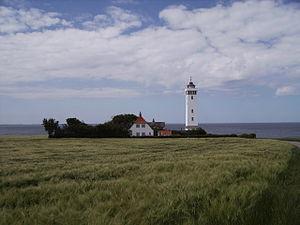 Helnæs - Image: Helnaes Fyr