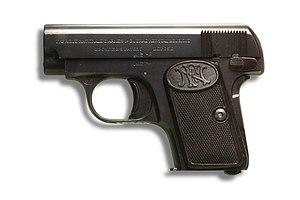 FN M1905 - Image: Henri Guisan FN Browning model 1906 IMG 3267