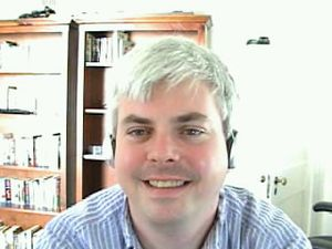 Henry Farrell (political scientist) - Farrell taking part in a BloggingHeads.tv conversation.