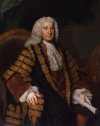 British general election, 1747 - Image: Henry Pelham by William Hoare