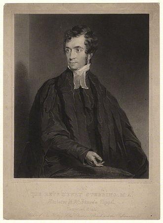Henry Stebbing (editor) - Henry Stebbing, 1830s engraving