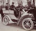 Henry Walcker au 3e Critérium de la consommation, en mars 1903 sur Chenard et Walcker (2e en 600-1000kg).jpg