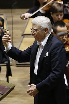 Herbert Blomstedt in Leipziger Gewandhaus at 17th December 2015.JPG