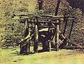 Herradero de bueyes - foto tomada en las inmediaciones de Reinosa - Cantabria - entre 1855 y 1857 - William Atkinson.jpg