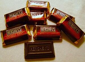 Hershey's Special Dark - Miniature-sized Hershey's Special Dark bars