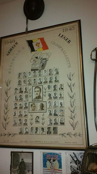 """Het Belgisch leger(voordien Belgisch legioen) werd nu """"het geheim leger"""" genoemd."""