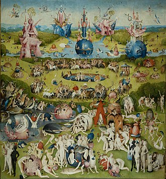 The Garden of Earthly Delights - Center panel
