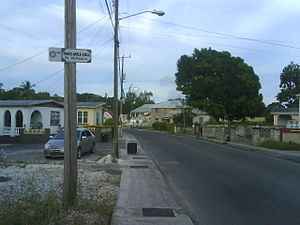 Saint Michael, Barbados - Highway 5, Two Mile Hill