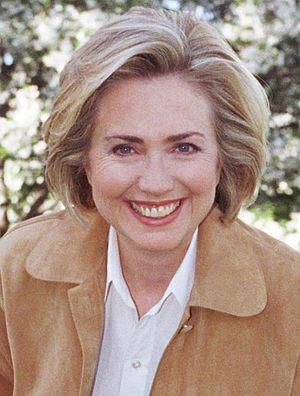 United States Senate election in New York, 2000 - Image: Hillary Clinton in 1999 2