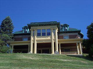 Hillside (Davenport, Iowa) United States historic place